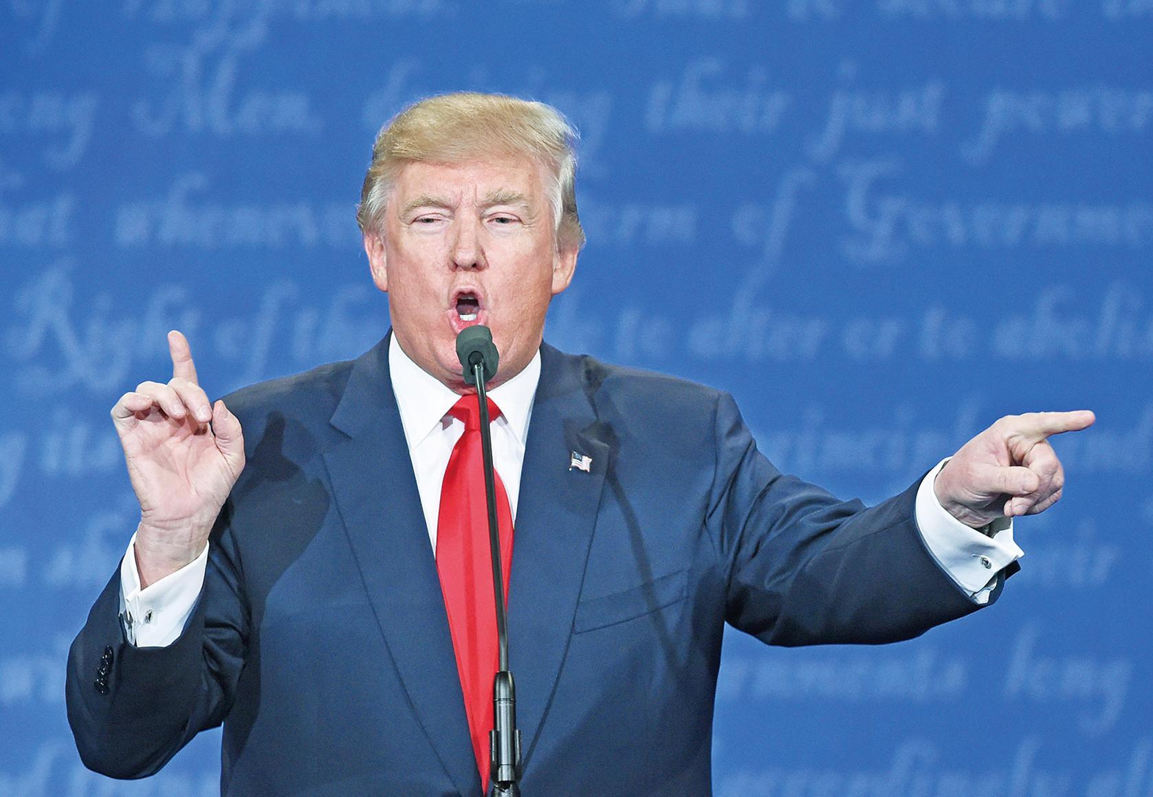 特朗普最終辯論自掘墳墓