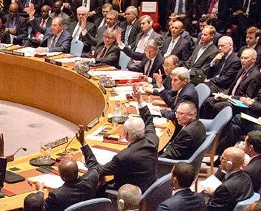聯合國安理會通過敘和平進程