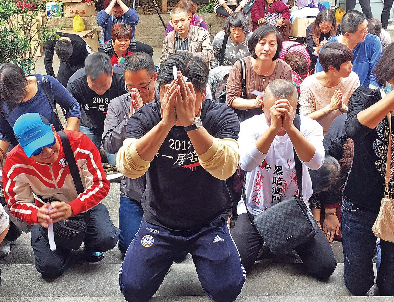 高銘博稱回歸當日將靜坐抗議