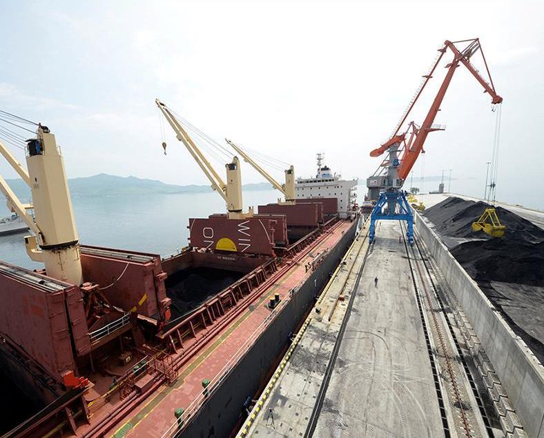 朝鮮三月煤炭出口量為零