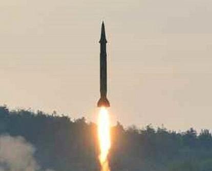 朝鮮今晨再射彈道導彈