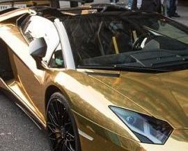 黃金超跑登陸倫敦街頭
