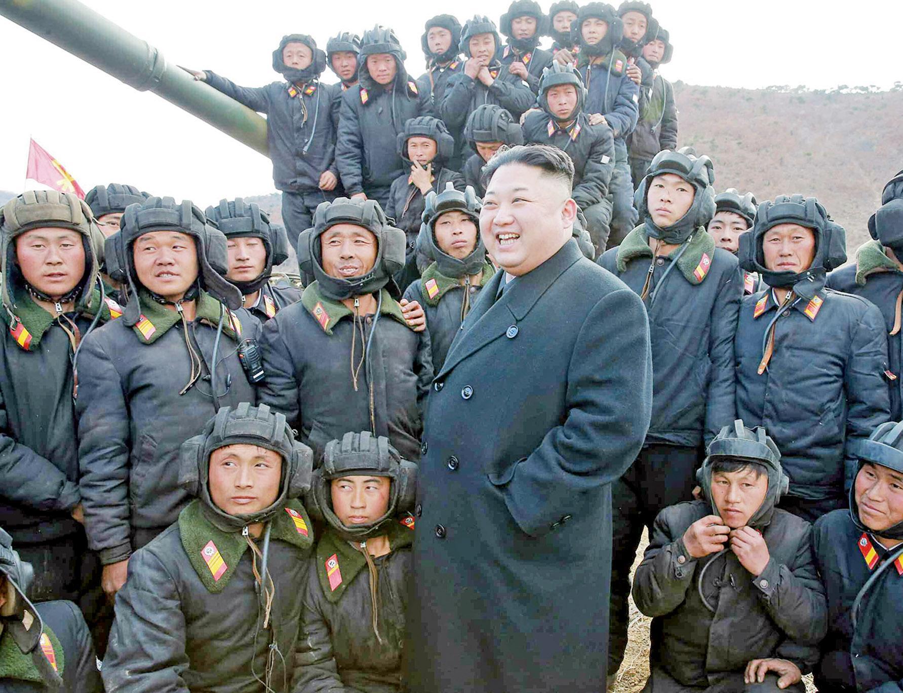 朝:已準備好開戰