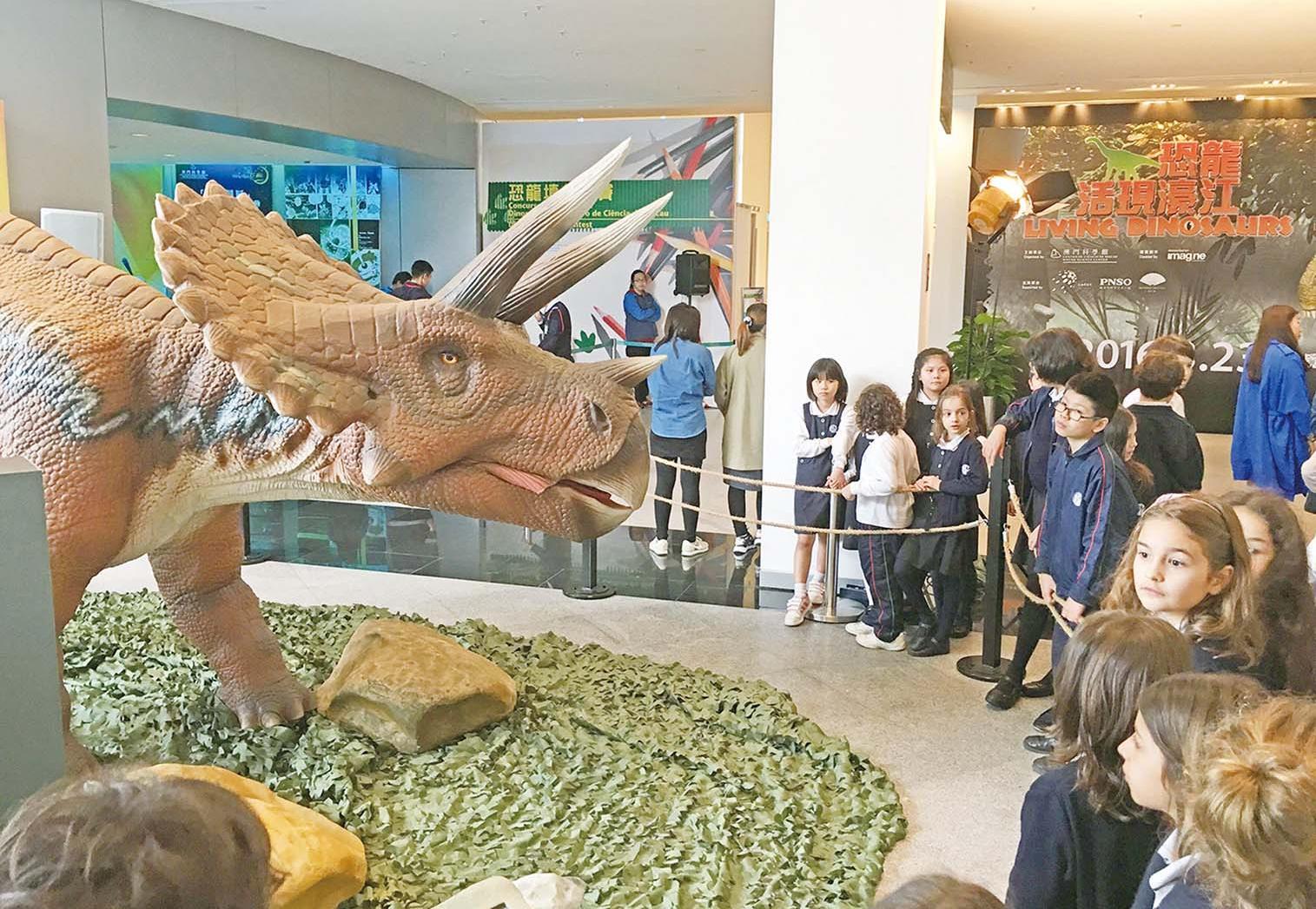 「恐龍」威霸風采征服童心