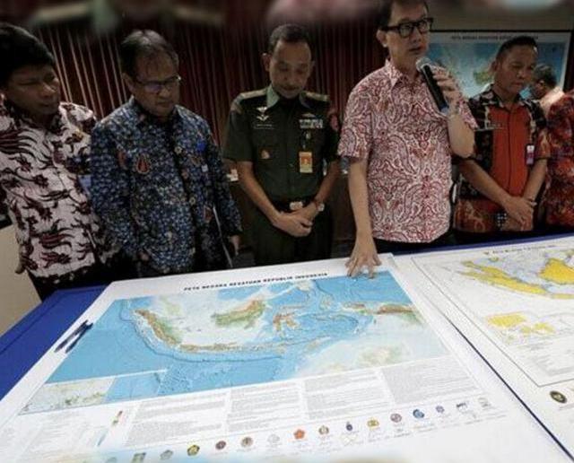 印尼重新命名南海部分海域