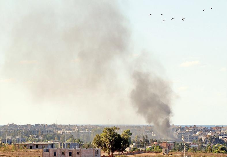 美空襲利比亞