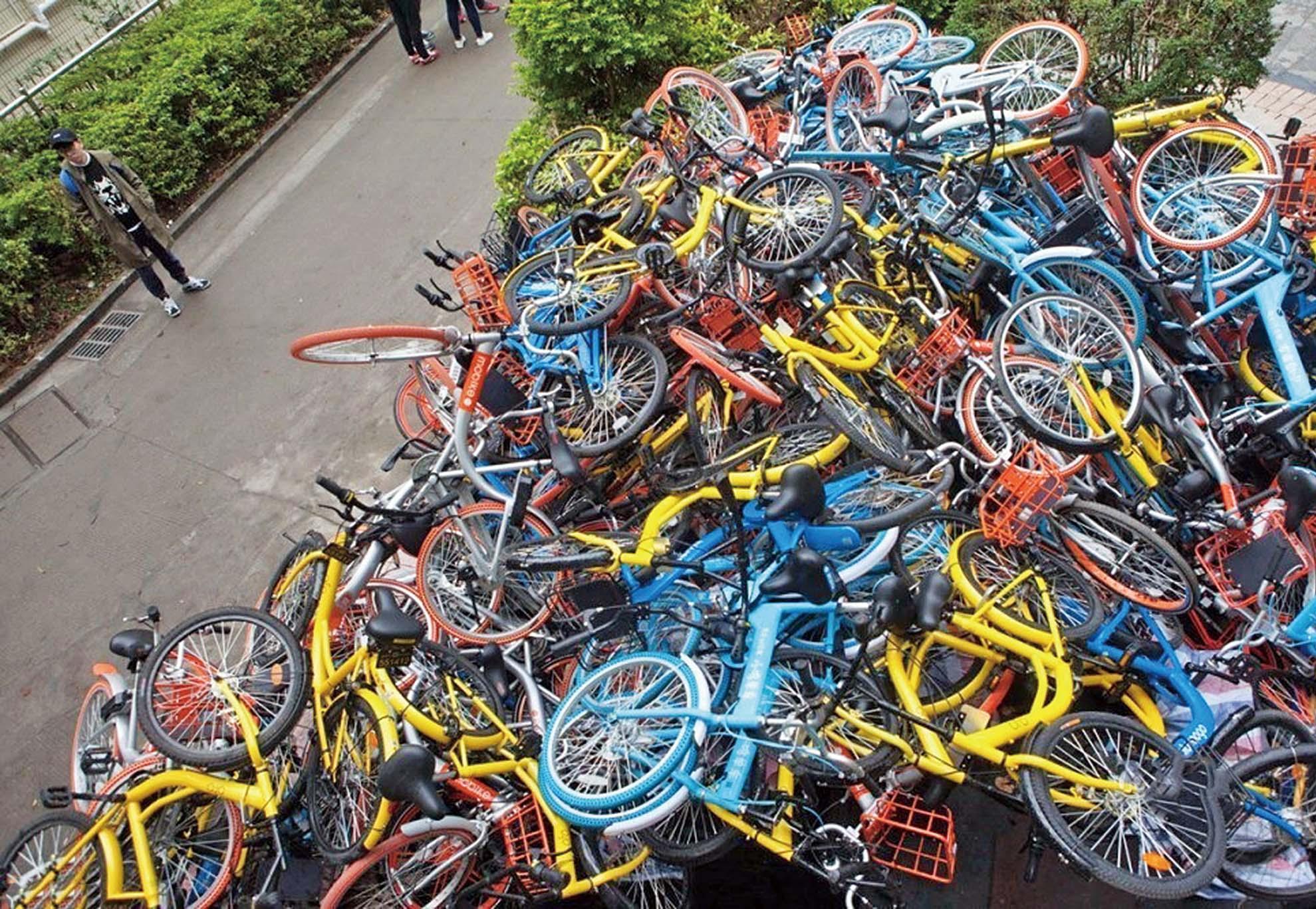 內地首家共享單車倒閉