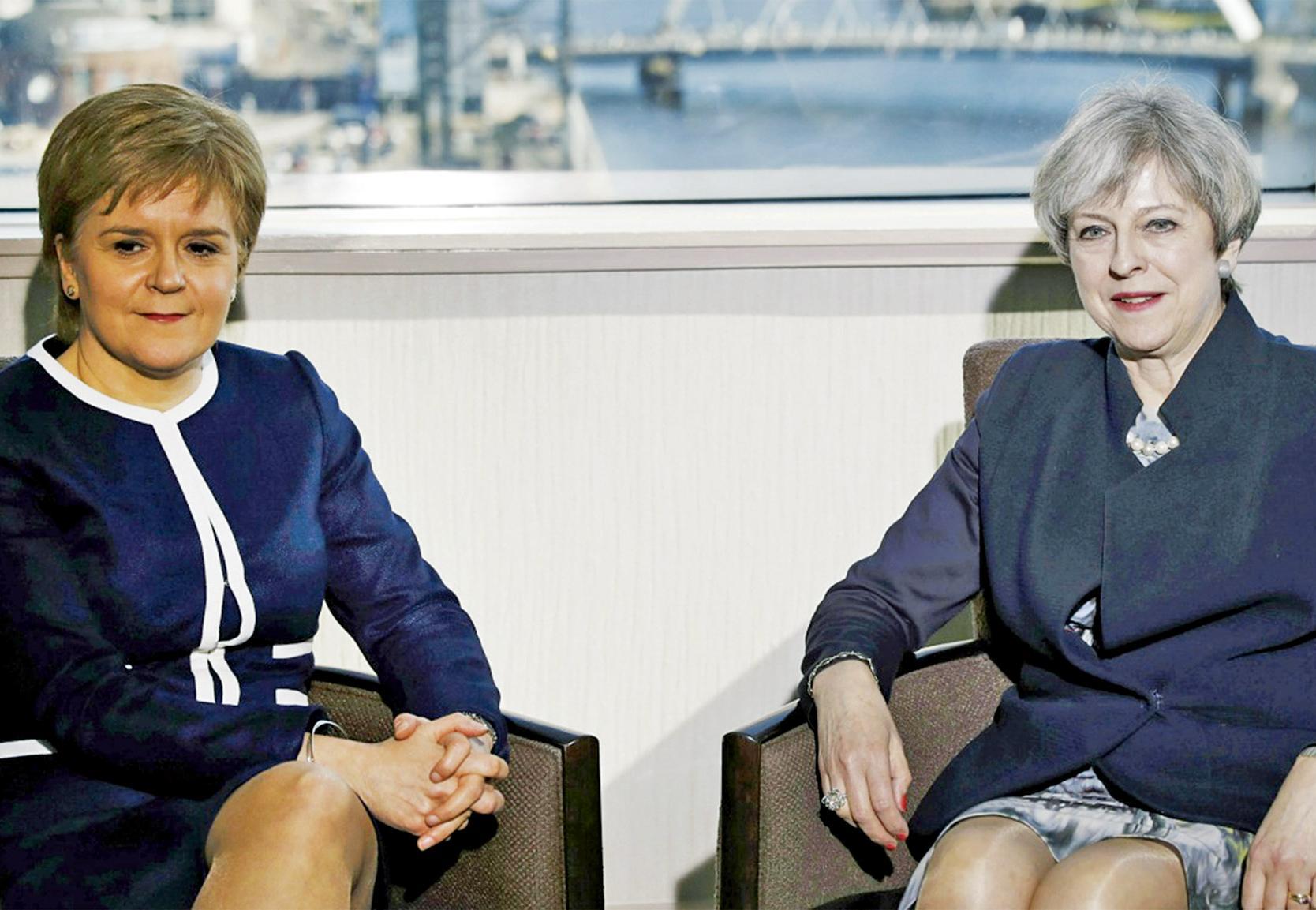 就蘇格蘭獨立公投各不相讓