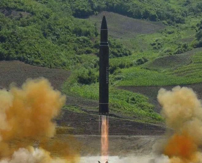 金正恩:導彈是美國獨立日禮物