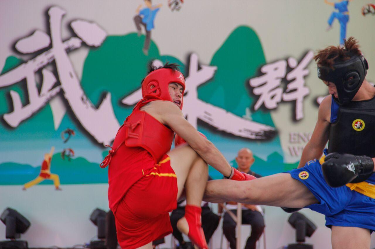 武林群英會舉行散打擂台挑戰賽
