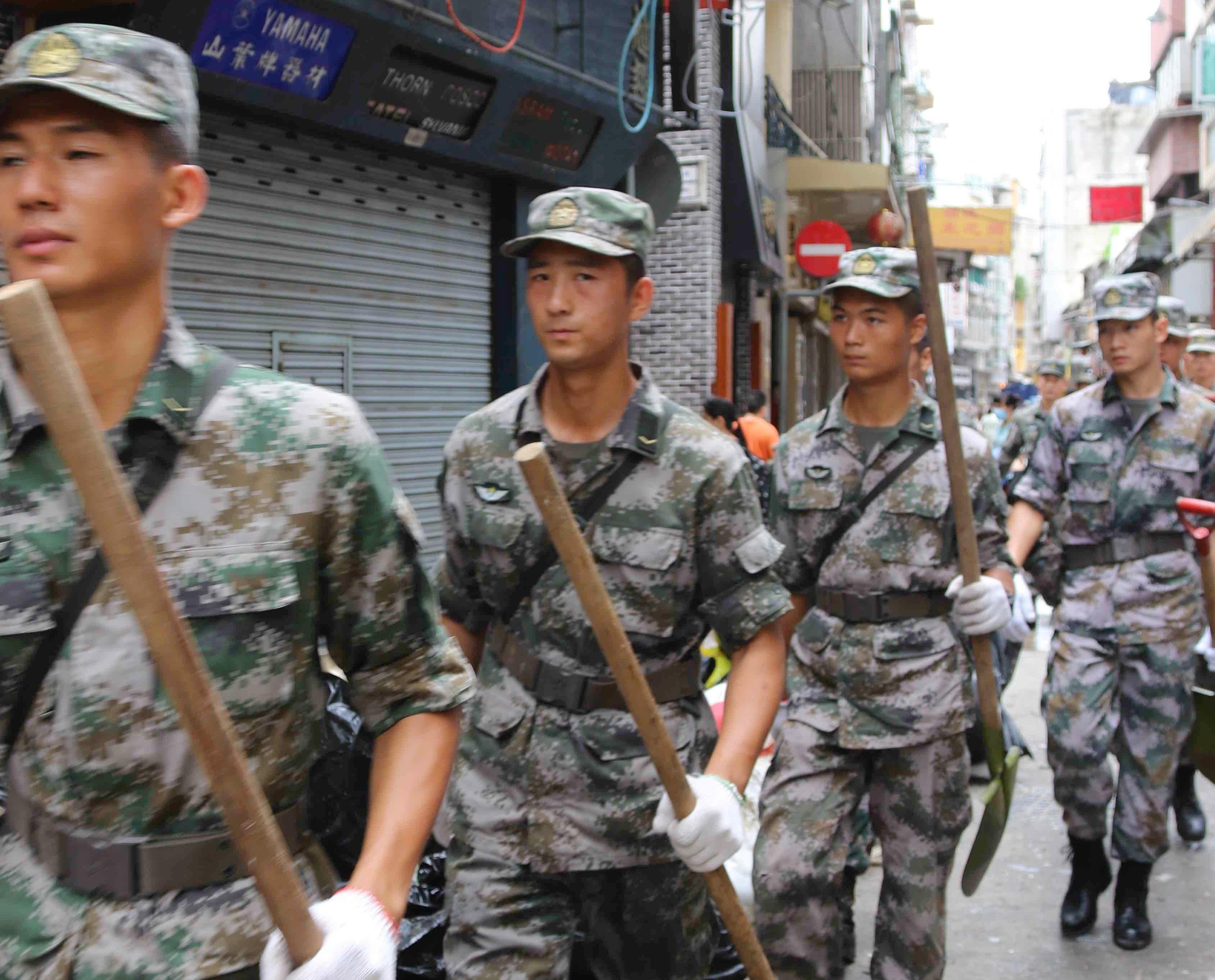 民防:下一颱風與駐軍緊密聯繫