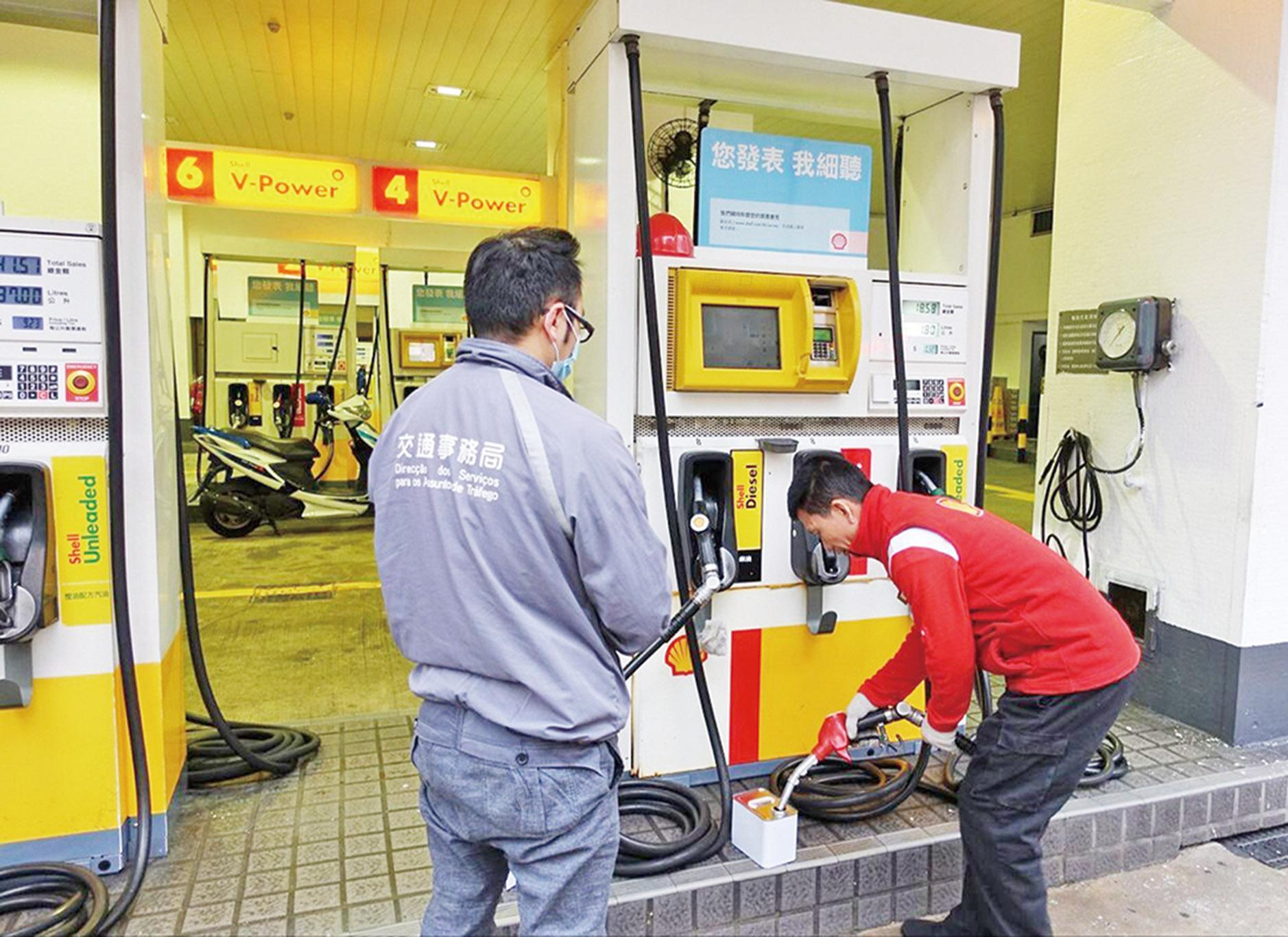 新標準下油品價格變動不大