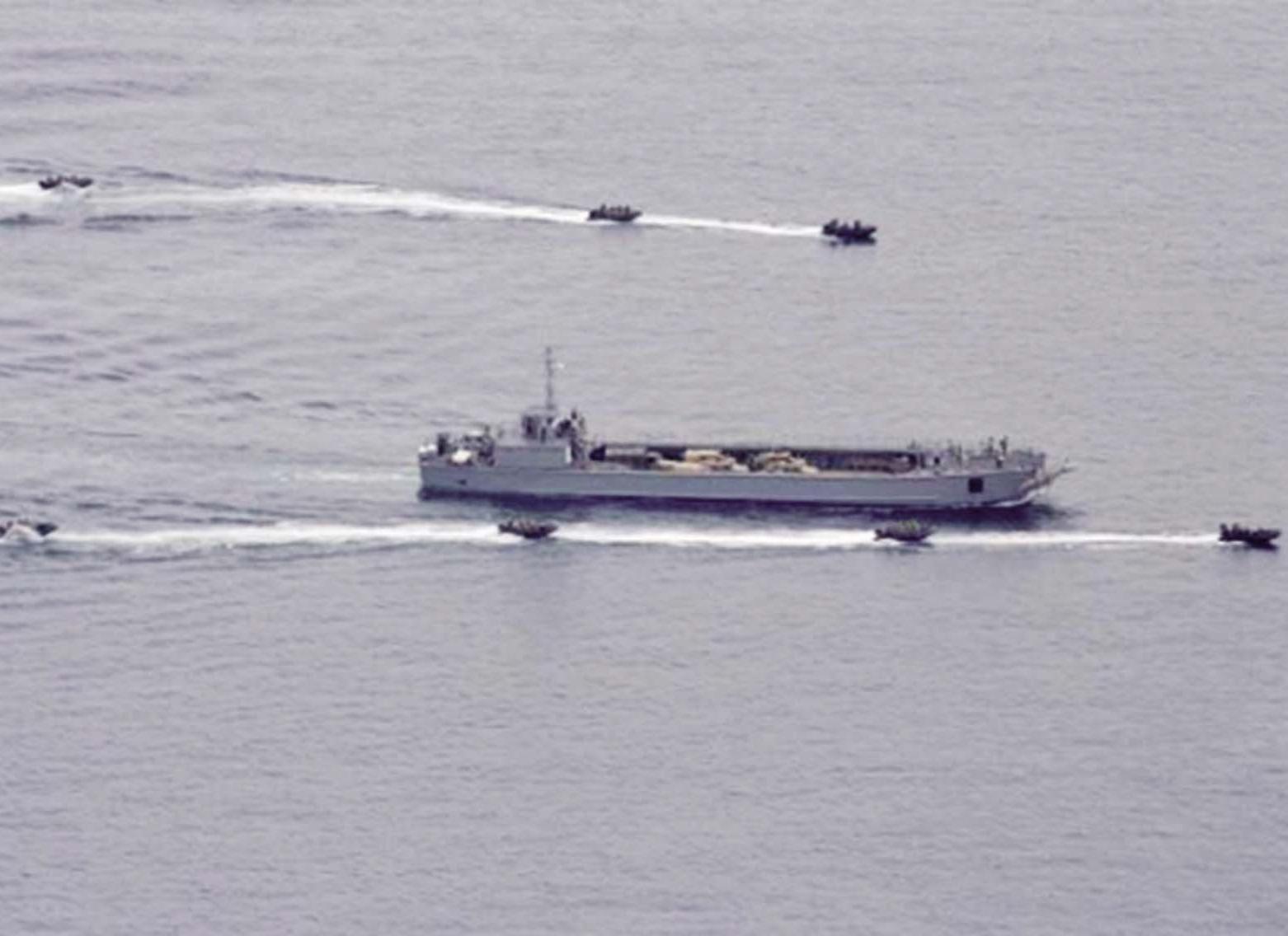 導航故障誤闖領海