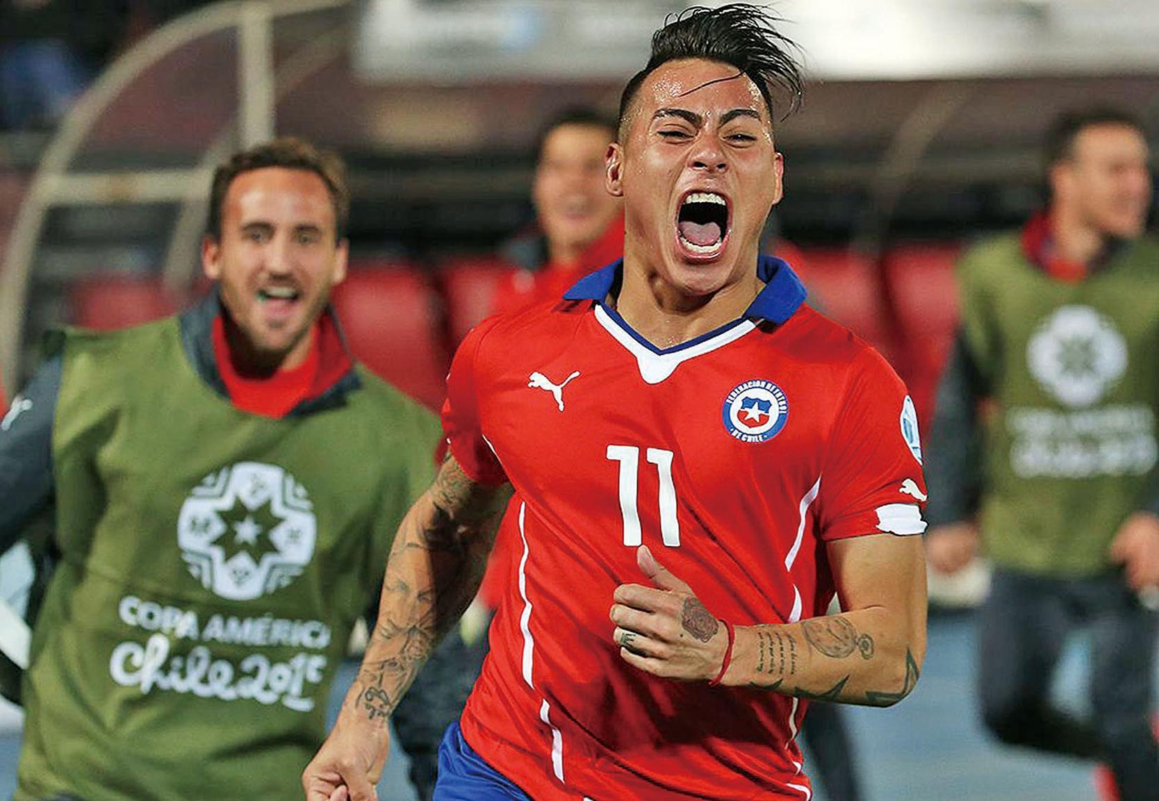 智利靠經驗贏德