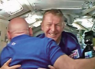 英人首登國際太空站