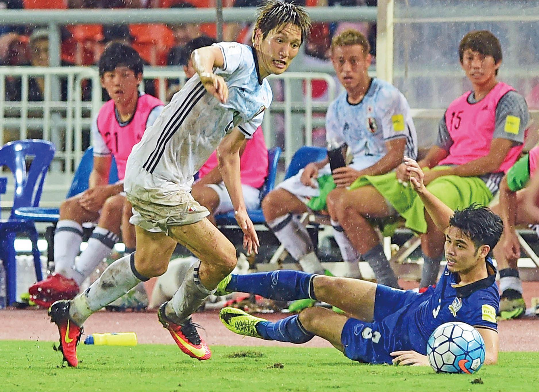 日本贏泰國啟勝利之門