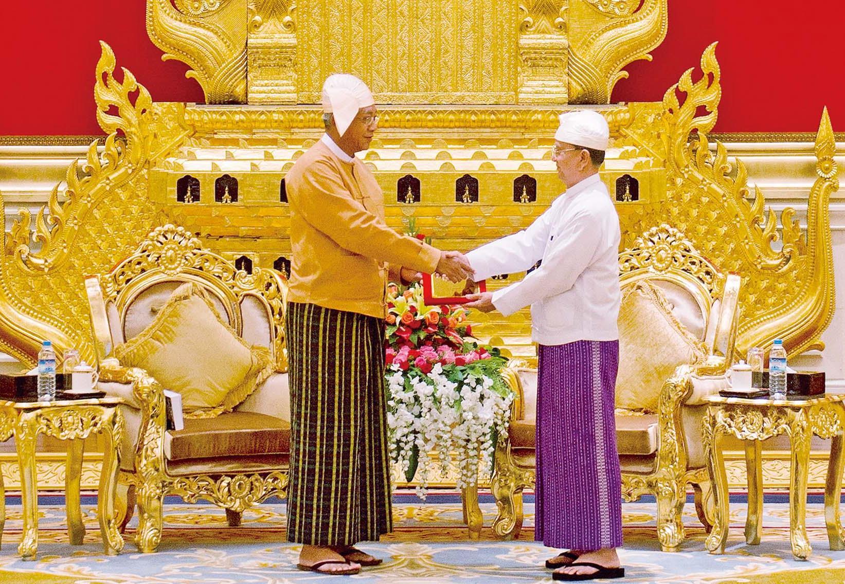 緬甸進入新紀元