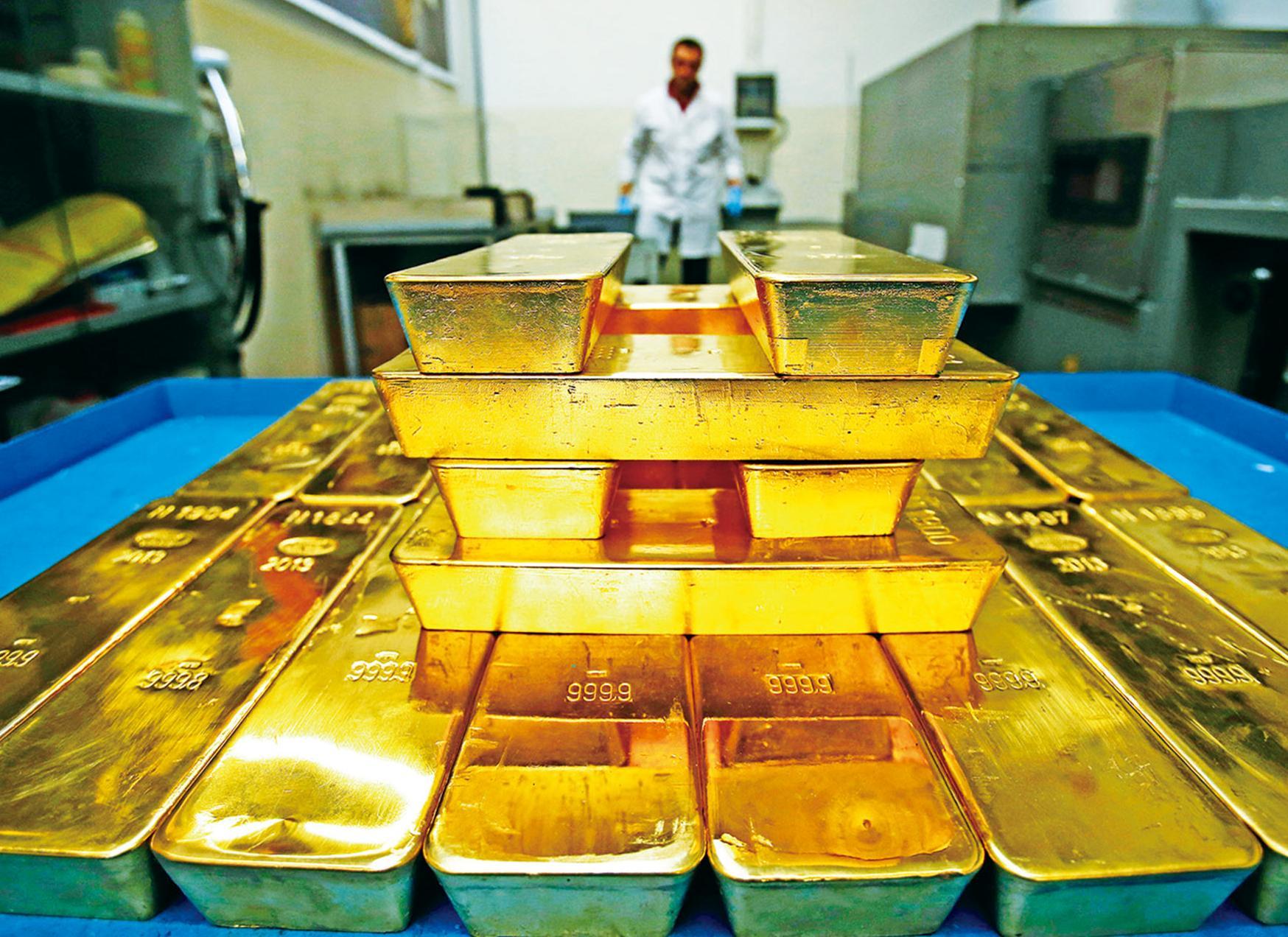 大購黃金分散儲備
