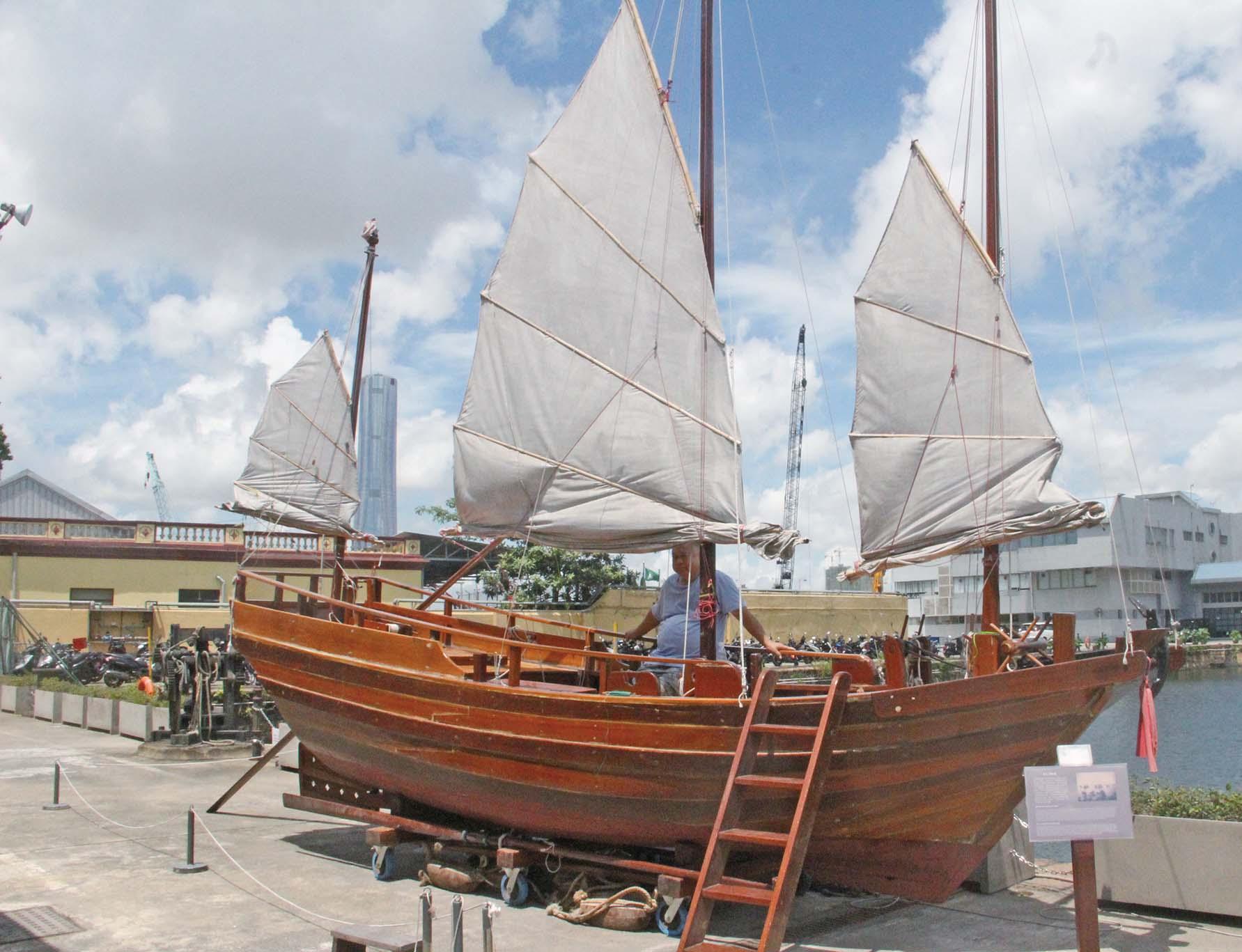 團體冀傳承傳統帆船文化