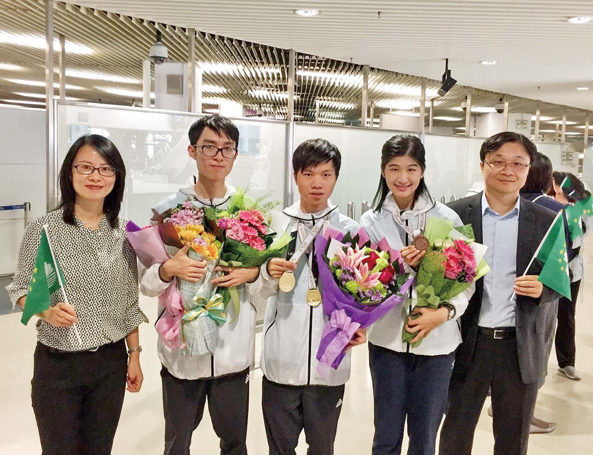 理工兩學生世界職業技能競賽奪獎