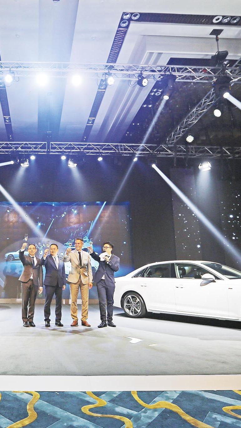 高科技Audi A4登場