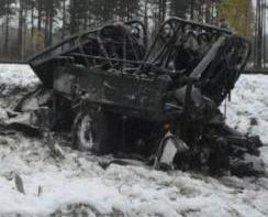 芬蘭火車與軍車相撞四死八傷