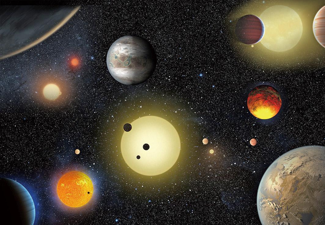 九顆似地球