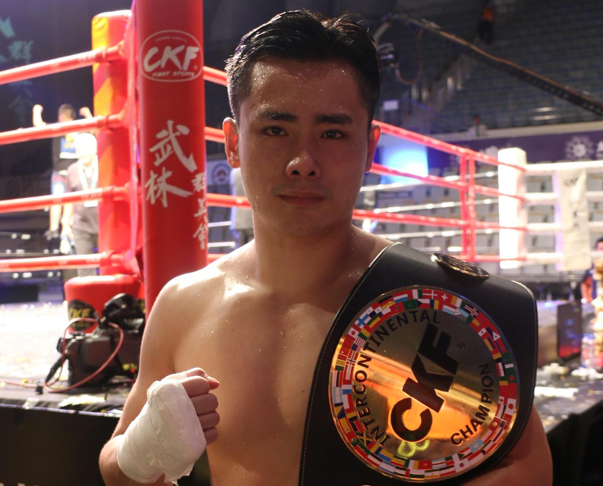 蔡良蟬戰勝泰國拳王