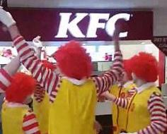 麥當勞叔叔玩轉KFC
