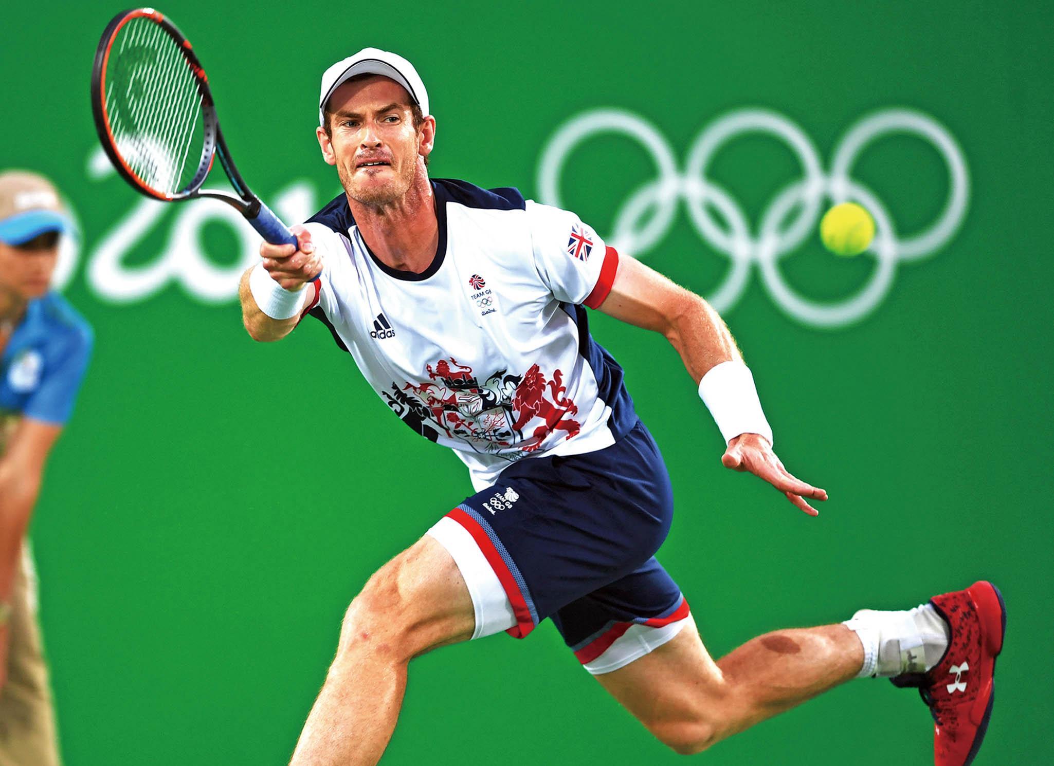 衛冕網球男單金牌