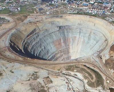 西伯利亞驚現最大鑽石礦值千億