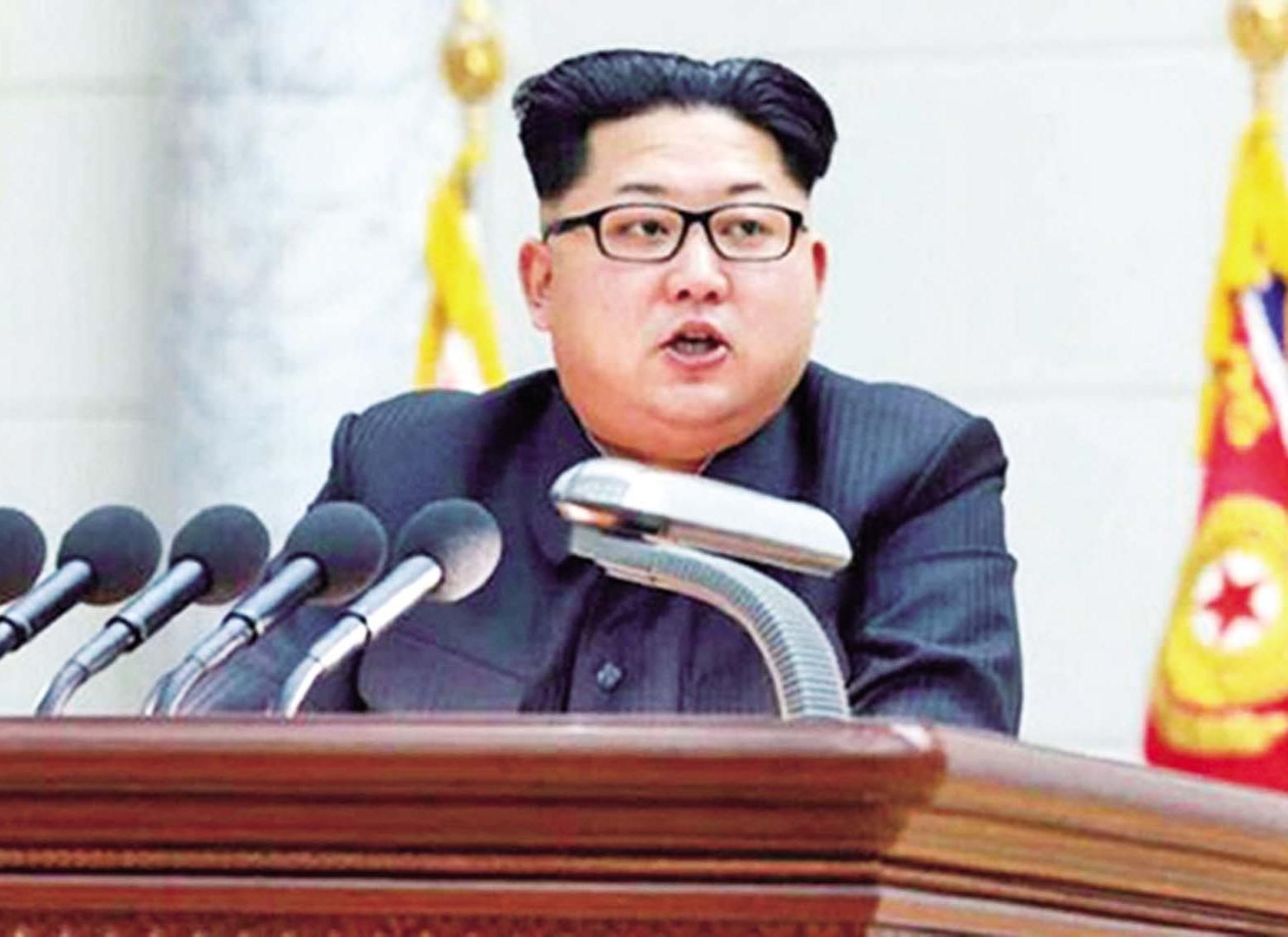 金正恩為核試辯解