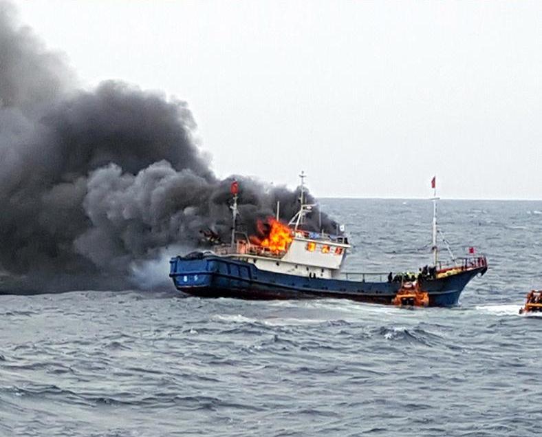 韓檢方起訴涉火命案中國船長