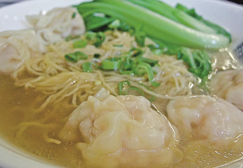 一碗雲吞麺
