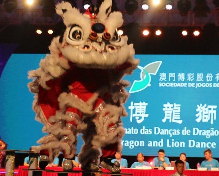 廣東隊奪武林群英會舞獅比賽冠軍