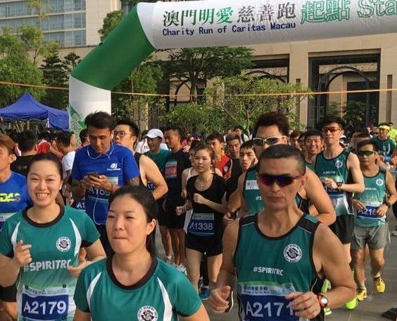 超過2,000人參與明愛慈善跑