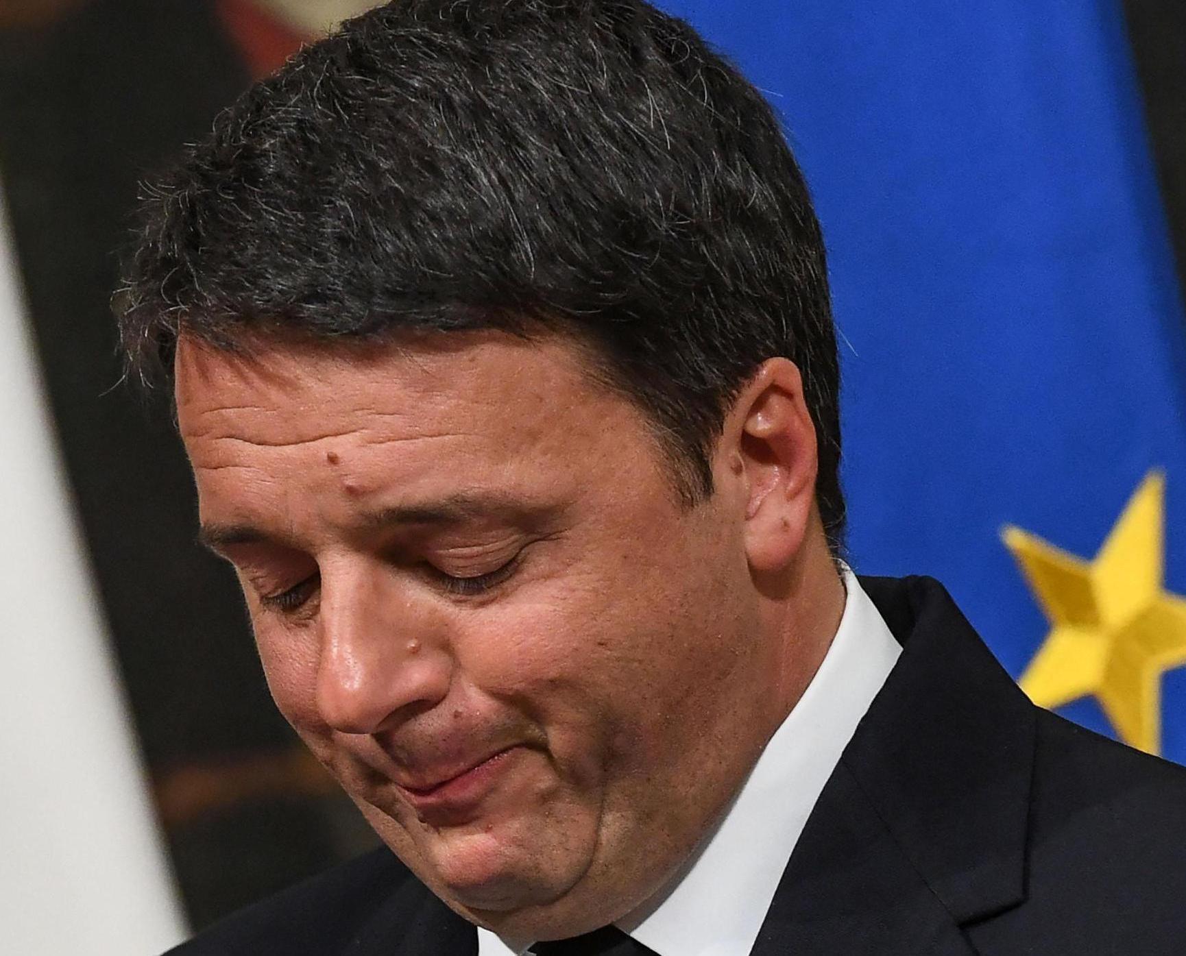 總理倫齊宣布辭職