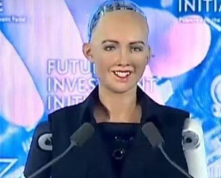 沙特授予機械人公民身份