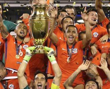 智利挫阿根廷美洲盃封王