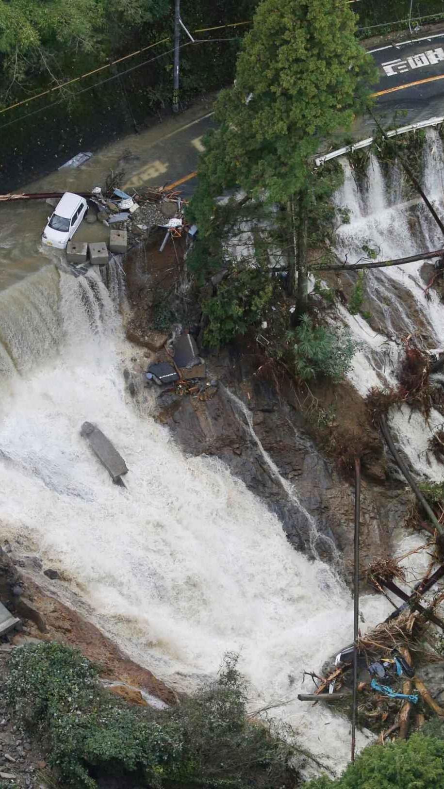 颱風「蘭恩」吹襲日本 增至六死