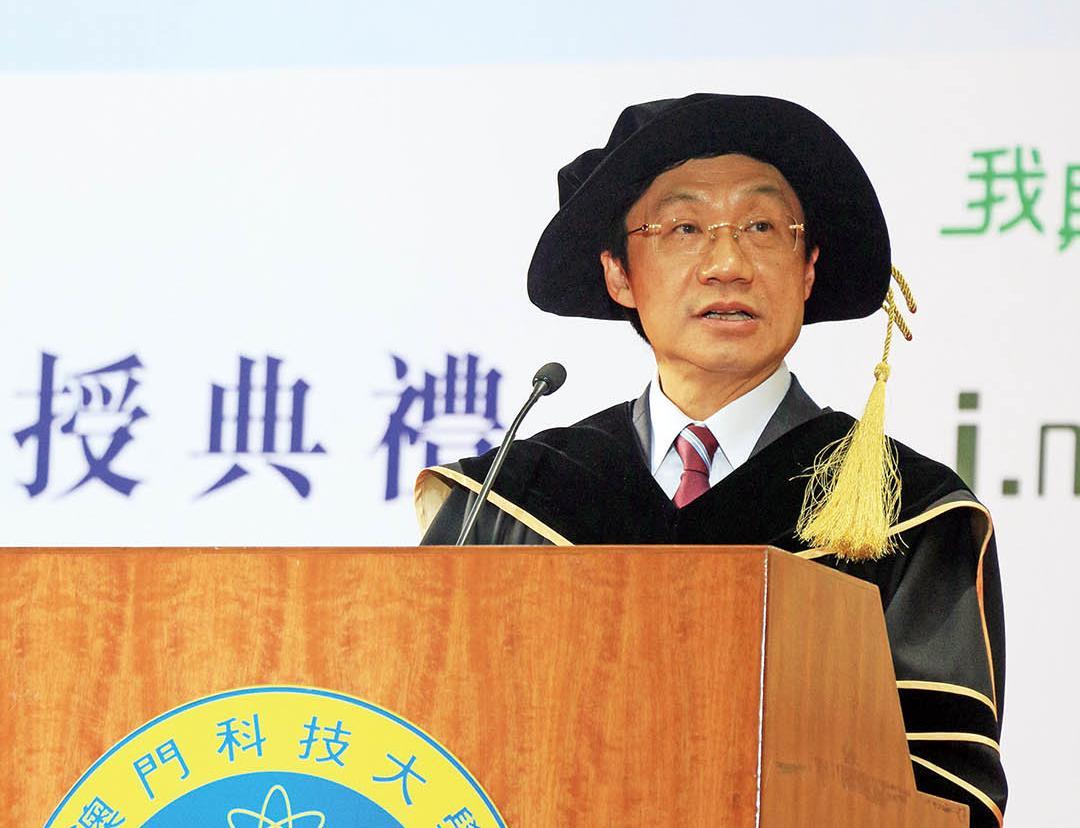 譚俊榮盼續提升教學質量