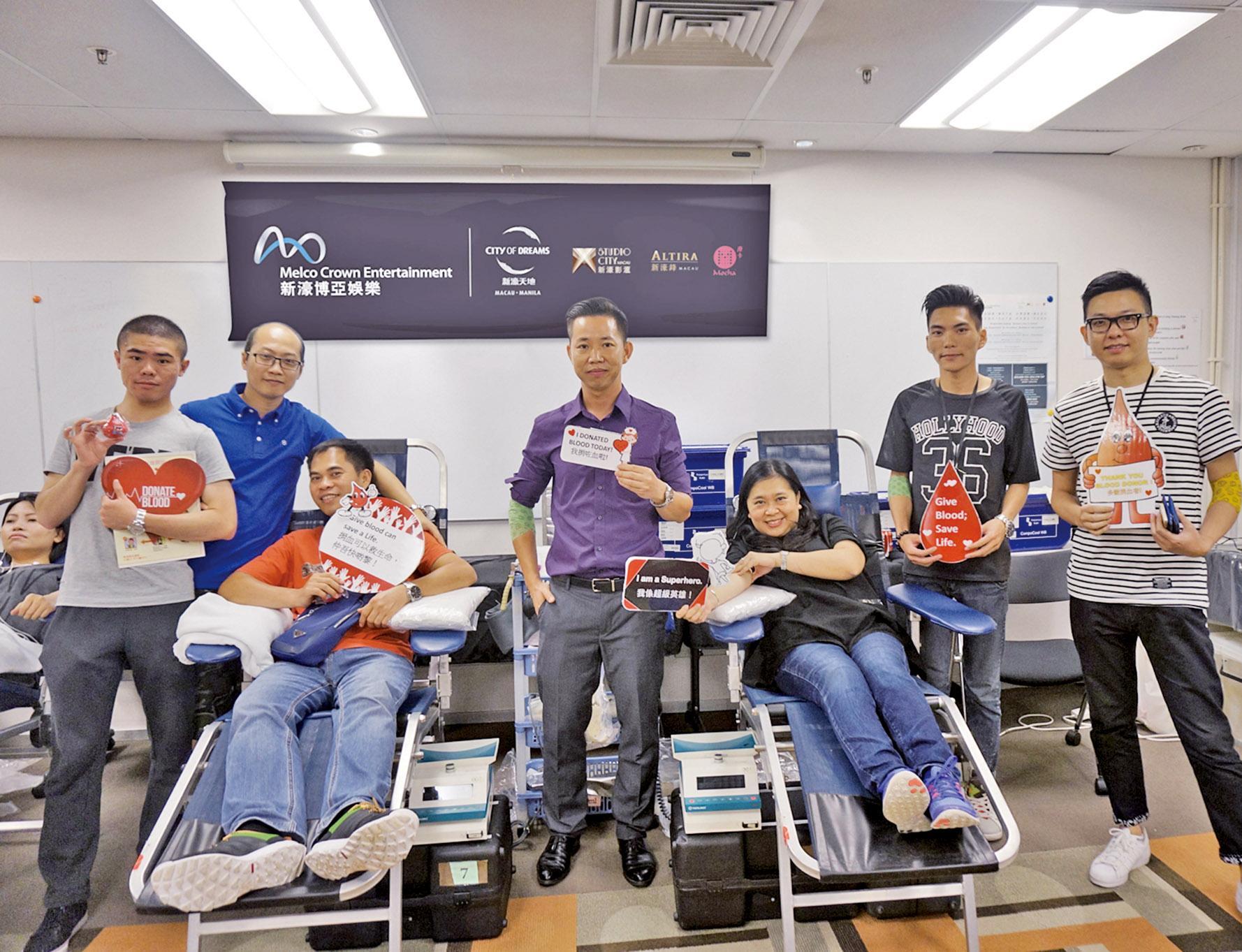 踴躍參與捐血助人運動