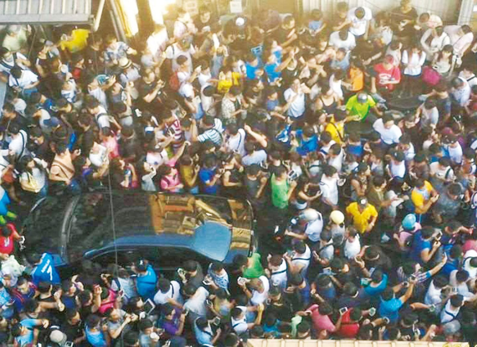 5,000人擠爆北投公園