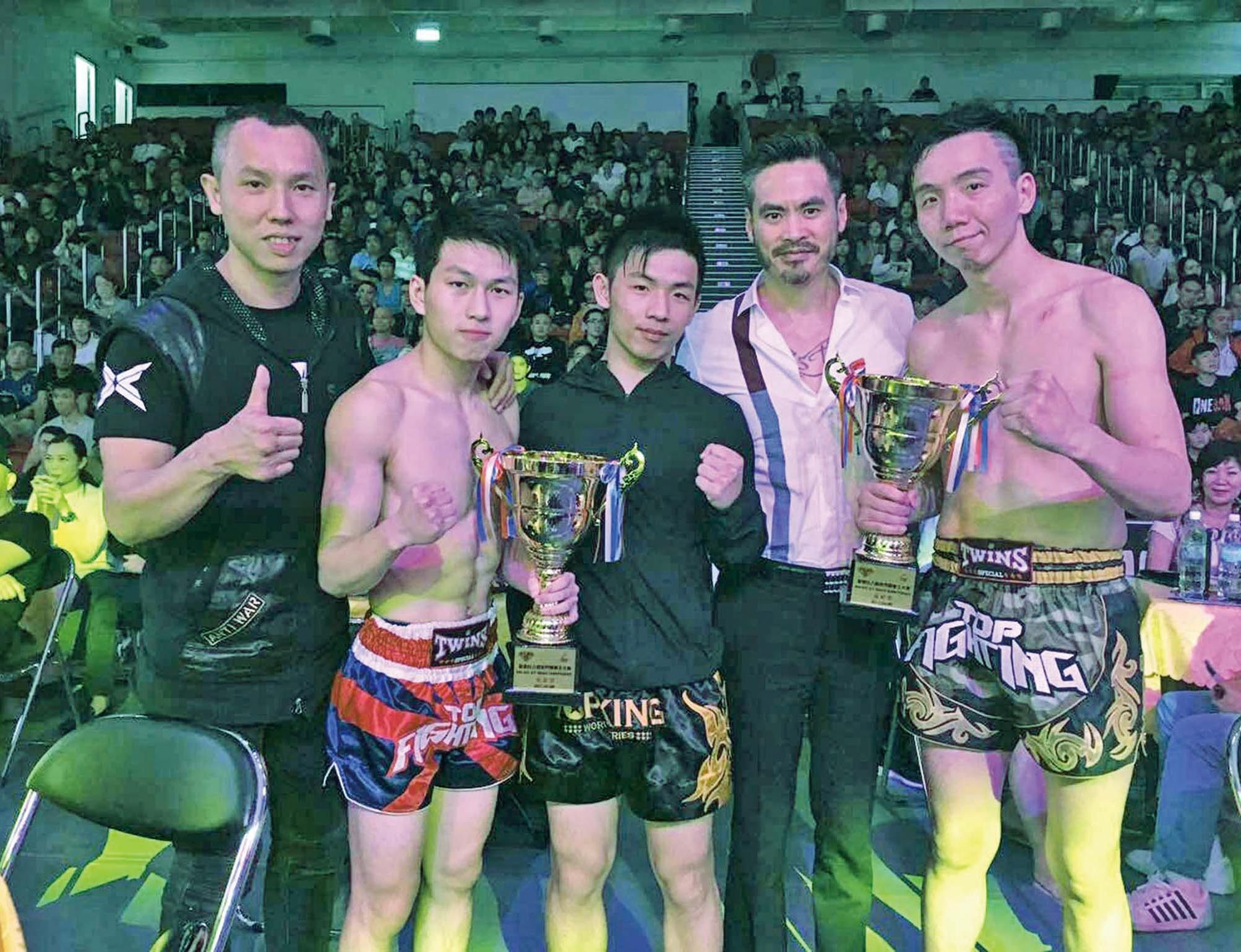 拳手揚威香港