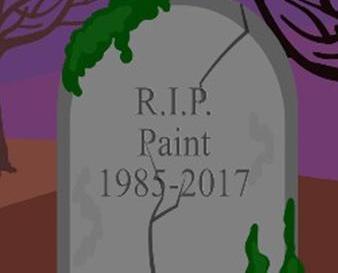 網民繪製墓碑道別