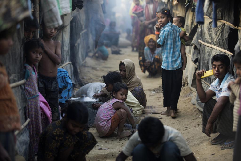 難民營如同人間煉獄