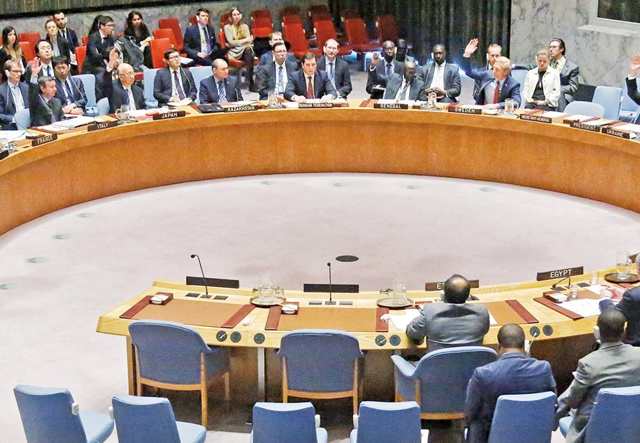 中俄在安理會投反對票