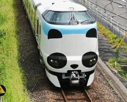日本JR熊貓列車今日登場