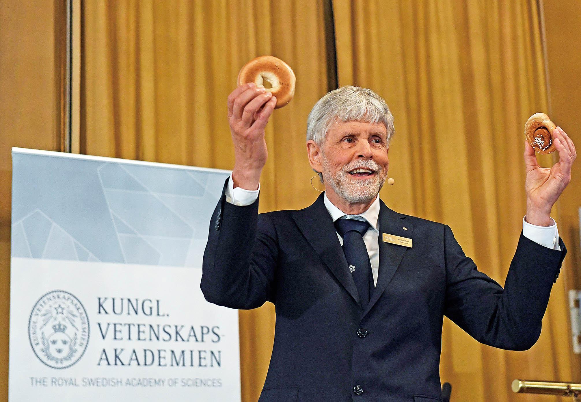 三英學者獲諾貝爾物理學獎