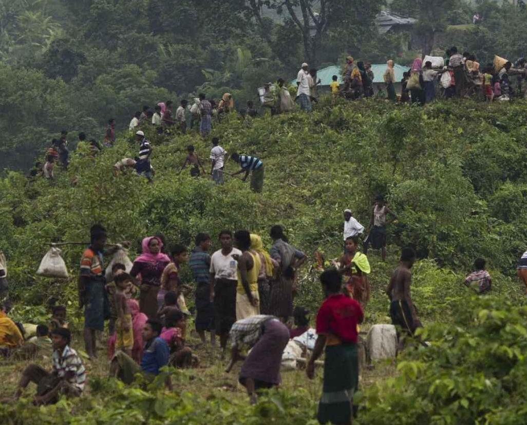 3.7萬羅興亞人湧入孟加拉